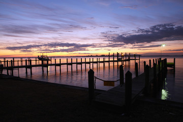 Dock at Dawn