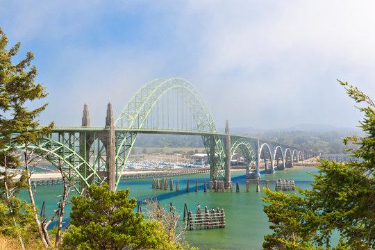 Yaquina Bay Bridge, Newport, Oregon, United States