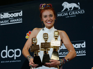 2019 Billboard Music Awards– Photo Room – Las Vegas, Nevada, U.S., May 1, 2019 – Lauren Daigle poses backstage with her 3 awards to include Top Christian Artist