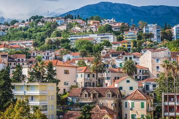 Keuken foto achterwand Athene Townhouses in Herceg Novi city, located at the entrance of Bay of Kotor, Montenegro