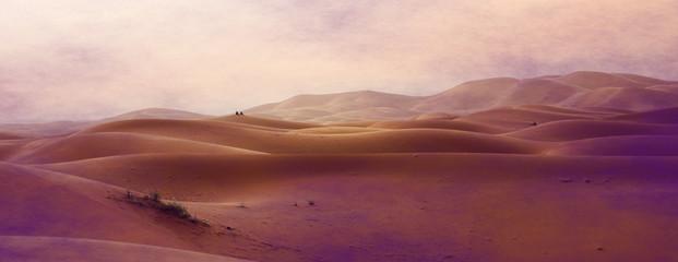 Foto op Aluminium Crimson desert