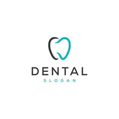 dental vector logo design
