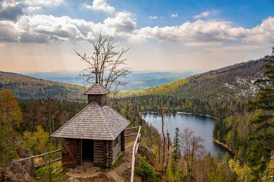 Rachelkapelle am Rachelsee