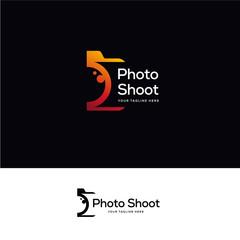 tech lens logo designs, simple line art technology logo designs