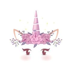 Fairytale Baby Unicorn Face