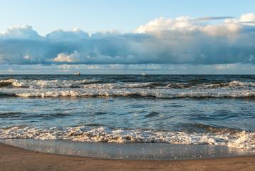 Plaża na Westerplatte