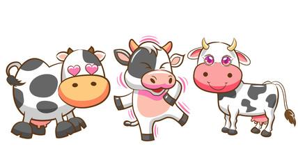 Cow kawaii. Search photos