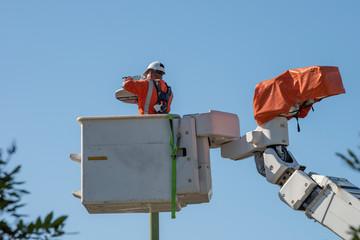 Maintaining a street light