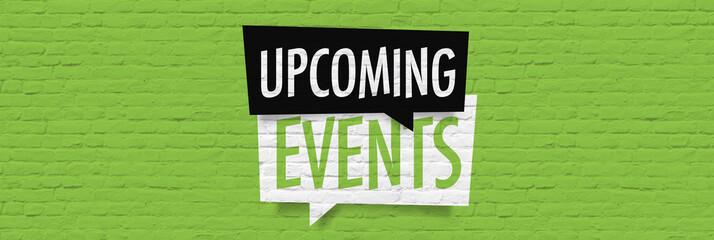 Obraz Upcoming events - fototapety do salonu