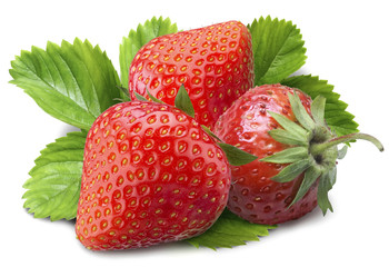 pictures of fresh natural strawberries