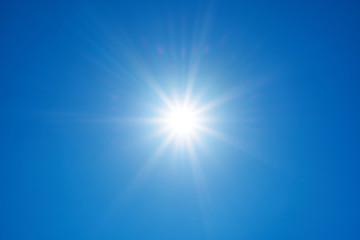 Fototapeta Słońce na tle nieba obraz