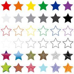 Estrellas variadas