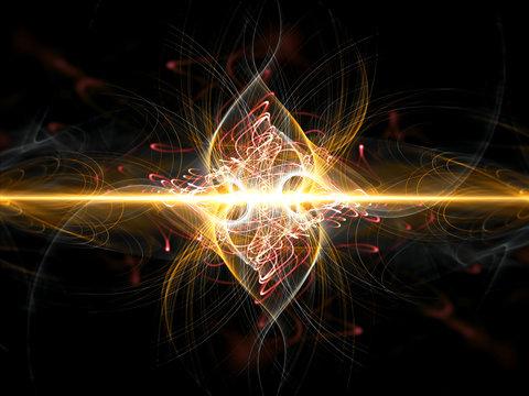 Dark energy with quantum waves, scientific concept