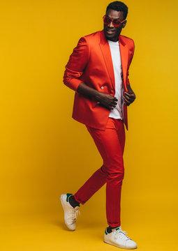 Stylish african man