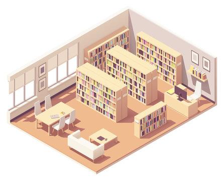 Vector isometric university library