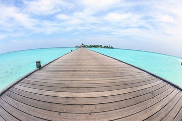 The Sea of the Maldives, Ari Atoll, wonderful landscape