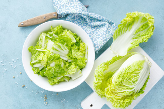 Fresh chinese napa cabbage salad
