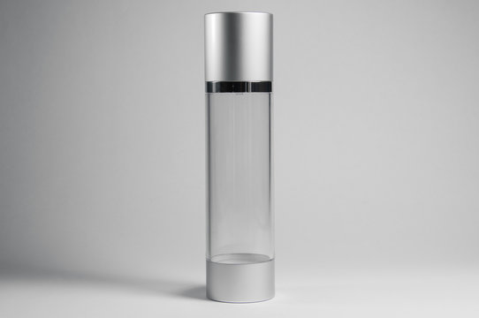 transparent plastic pump spray for perfumes