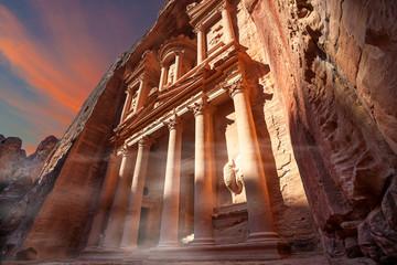 Palazzo del Tesoro a Petra, Giordania
