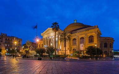 Teatro Massimo in Palermo; Sizilien
