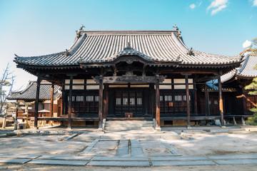Kurashiki Kanryuji temple in Okayama, Japan