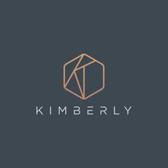 Initial K Logo - Vector logo template
