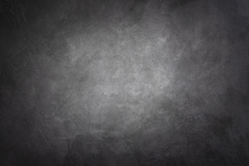 Dark black stone texture background