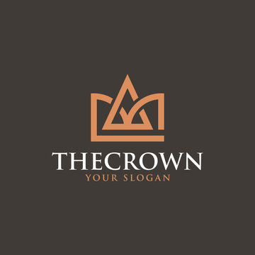 The Crown Logo - Vector logo template