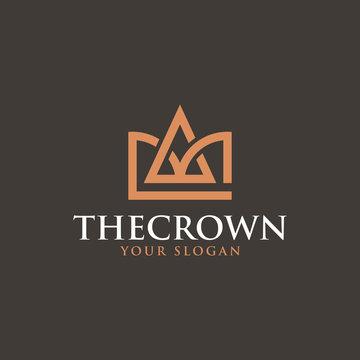 The Crown Logo - Vector logo template