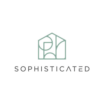 Sophisticated Real Estate Logo - Vector logo template