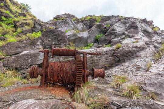 Old Rusty Winch