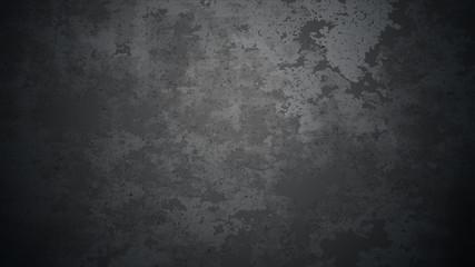 Vector dark concrete texture. Stone wall background. Black background. Fotomurales