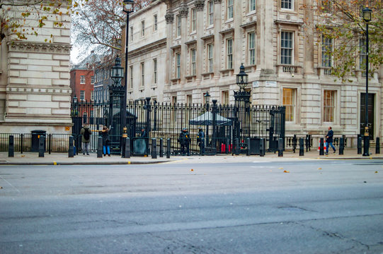 The building of whitehall at downing street london