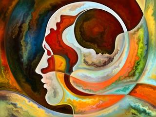 Digital watercolor abstraction.
