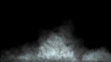 Garden Poster Smoke Fog or smoke covering the bottom of image black background 3d render