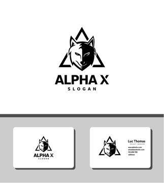 alpha x logo