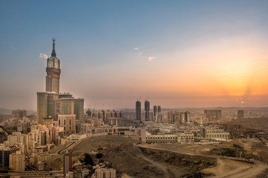 Makkah Cityscape Saudi Arabia