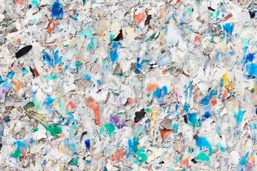 Recycling-Kunststoff-Oberfläche
