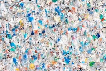Recycling-Kunststoff-Hintergrund