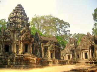 Temples in Angkor Wat, Cambodia