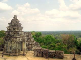 Phnom Bakheng Temple in Angkor Wat, Cambodia