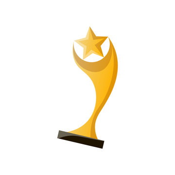 Gold cinema cup for best modern film production