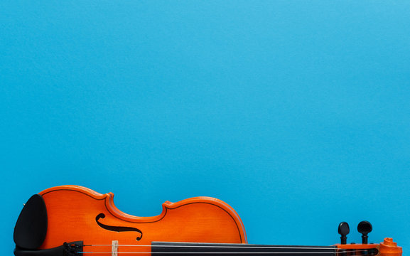 Classical music festival poster violin