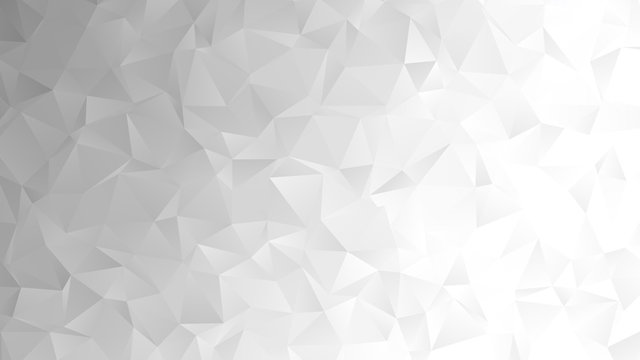 Light grey abstract low poly backgound for modern design, vector illustration template