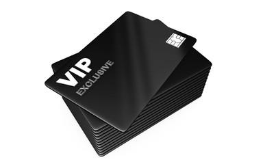 vip card on black