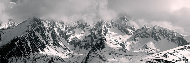 Wall Mural - Winter Tatras in Eastern Europe