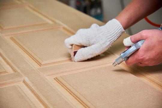 wood door milling, interior doors production