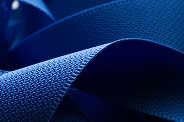Ribbon woven belt