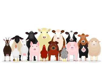 various livestock group