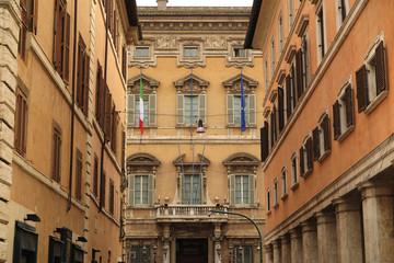 Palazzo Madama, sede del Senato, Roma